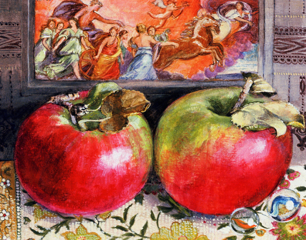 Two Apples & Guide to Rome